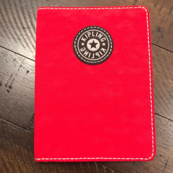 sports shoes c5a57 0e0c9 Red Nylon Kipling Passport Holder